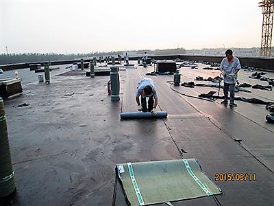 定福庄再生水厂沉淀池防腐及砂滤池屋面防水工程