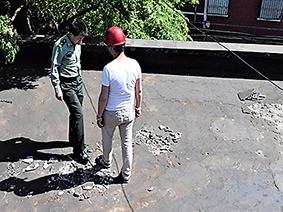 八一电影制片厂平屋面整体防水维修工程