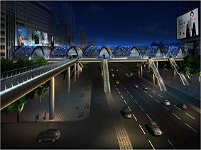 海龙科贸过街天桥改造