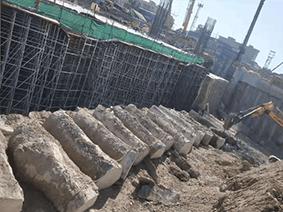 新丰台火车站支护桩切割拆除