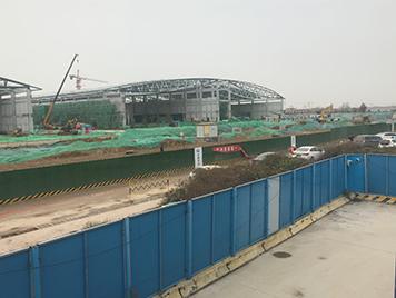 济南绿地国际会议中心砼拆除